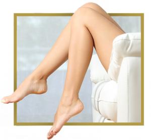 Depilación de piernas laser